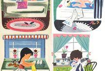 Children's Literature and Illustration / Kid's books I love. Beautiful illustrations from vintage children's books.