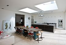 Case study - Large family kitchen in Wiltshire country house / bulthaup by Kitchen architecture case study - Large family kitchen in Wiltshire country house