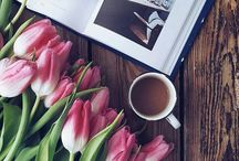 Раскладка с цветами