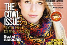 Cast On: November 2014-January 2015 / Ravelry links to the patterns you'll find in this issue!  / by The Knitting Guild Association