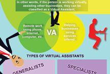 Virtueel Assistent / Jij richt je op prioriteiten. De virtueel assistent zorgt voor de ondersteunende taken