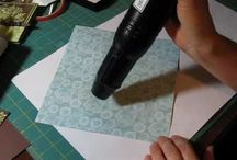 Paper crafting techniques