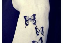 Wrist tattoos