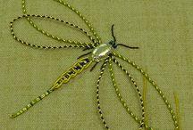 Goldwork - Broderie or- broderie perlee / Or, fil et perles