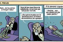 """Humor """"quijotesco"""""""