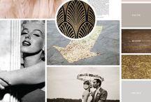 Colour & Mood Boards / Colour Palettes, Mood Boards, Branding, Colour