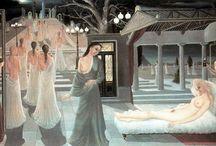 Paul Delvaux Paintings