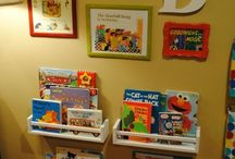 Rincones de Lectura / Reading Corner / My favourite bookshelves for kids. ¡¡I Love it!