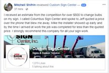 Custom Sign Center Reviews / Find out how Custom Sign Center cares about their customers by reading our reviews!