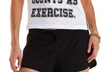 CR Active / Workout gear for the fashionista!  / by Charlotte Russe
