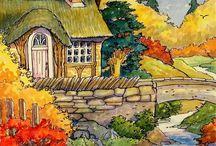 Рисунки осень