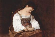 Caravaggio / Michelangelo Merisi (o Amerighi), noto come il Caravaggio (Milano, 29 settembre 1571 – Porto Ercole, 18 luglio 1610)
