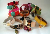Brazilian Leather Bracelets / Visit http://www.almojewellery.com/leather/
