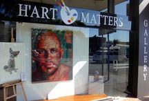 Our Art Gallery / The H'Art Matters Gallery is owned by our founder, Nafisa, and has an entire room dedicated to Animal Works, 517 Military Road, Mosman.