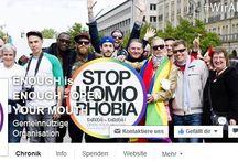 STOP HOMOPHOBIA - Homophobie stoppen! / STOP HOMOPHOBIA ist als Pinnwand für Beiträge, News und Videos aus den Themenbereichen Mobbing, Homophobie, Diskriminierung usw. gedacht.