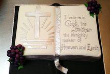 Bible cakes