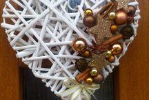 pletene dekorace