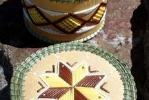 American Indian Baskets / Beautiful baskets made by or inspired by American Indians of North America.