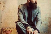 Retratos moda hombres