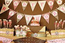 Birthday Party Ideas / by Michele Fischer