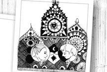 Ślubny Kuferek / autorskie ilustracje od P.W.