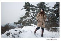Portré hóesés után / Portrait of beautiful girl with snow