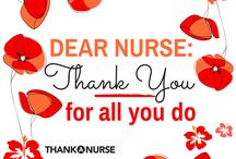 Thank A Nurse / Nurses are an essential part of the healthcare system and keep us safe everywhere from hospitals and emergency rooms to schools and rehabilitation centers. Here are different ideas and ways to thank your nurse! / by allnurses.com