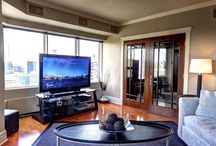 The Tuscany / A 1580 square foot 2 bedroom sub-penthouse outfitted with the finest furnishings, electronics and artwork