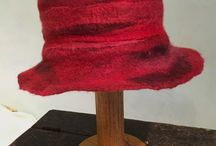 Hand Felted Hats