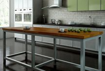 Aluminum Frame Base Systems / Aluminum frame base systems are highly functional extruded bases made in custom shapes for your island and cabinetry applications.