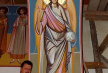 Pictura monumentala de Dorin Macovei / Pictura bisericeasca de Dorin Macovei