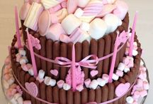 marshmallows Cake