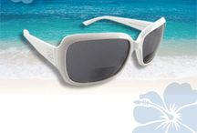 "Hawaiian Lenses - Women's Styles / Really hip styles of our sunglasses with readers.   These are ""not your grandmother's bifocals!"""
