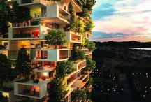 Architecture and structure / We are passionate about architecture, and designs that move us - whether scale, beauty, eco/green-friendliness, innovation.