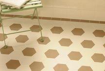 Victorian Floor Tiles - Hexagonal Patterns / Victorian style Victorian Floor Tiles in Hexagonal patterns