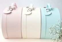 Baby Keepsake Boxes / Luxury collection of baby keepsake boxes with removable love-heart keyring. Personalise with baby's initials, date of birth of 'Mama' or 'Baby'. The perfect baby gift. Delivery Australia-wide.