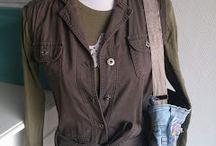 Doe het zelf, restyle kleding! DIY / De pins verzamelen die gaan over het hergebruiken, restylen, oppimpen en versieren van kleding.