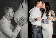 Studio maternity shoot