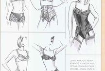 patroontekenen lingerie