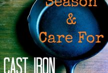 #CARING FOR CAST IRON#