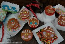 Christmas Cupcakes: Gingerbread Boys and Girls
