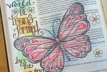 Romans--Bible Journaling by Book / Bible Journaling examples from the book of Romans