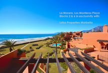 La Morera, Los Monteros Playa / Lotus Marbella now offers in exclusivity and with a new spectacular show flat, La Morera in Reserva de Los Monteros.  Luxurious beachfront urbanization with 45 apartments, designed by the award-winning architect Melvin Villarroel.  Contact Lotus Properties for viewing!