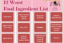 Food ingredients to avoid