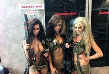 Scantily Clad with Rifles!
