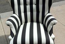 Chaise stylisée / by Hélène Fredette