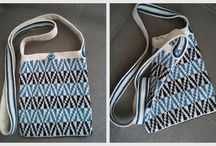 Tapesrtry crochet bags, of my works.