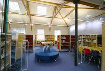 Wakefield Grammar School library