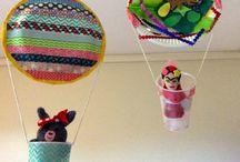 nápady pro děti - letadla, vrtulníky, balony ...