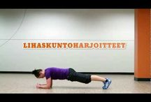 Liikunta lihaskuntoharjoitus